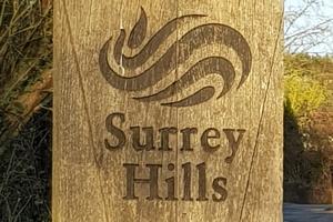 Surrey Hills post marker b4sh